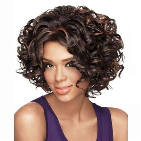 Rambut Palsu Surabaya wig rambut palsu model curly brown jakartanotebook
