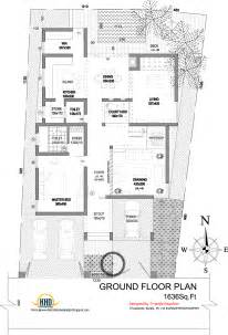 Modern Floor Plans For Homes Modern House Elevation 2831 Sq Ft Home Appliance