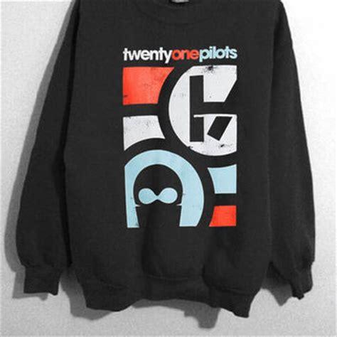Sweater Twenty One Pilots Logo Redmerch twenty one pilots logo sweatshirt unisex from kwelehmatine on