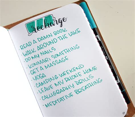 the design collection journal 5 ways to add self care to your bullet journal pretty