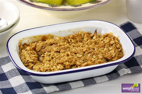 apple pear crumble low fat apple pear crumble weightloss com au