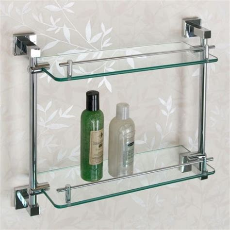 Metal And Glass Bathroom Shelf Bathroom Decoration Plan Bathroom Decoration Plan And Ideas