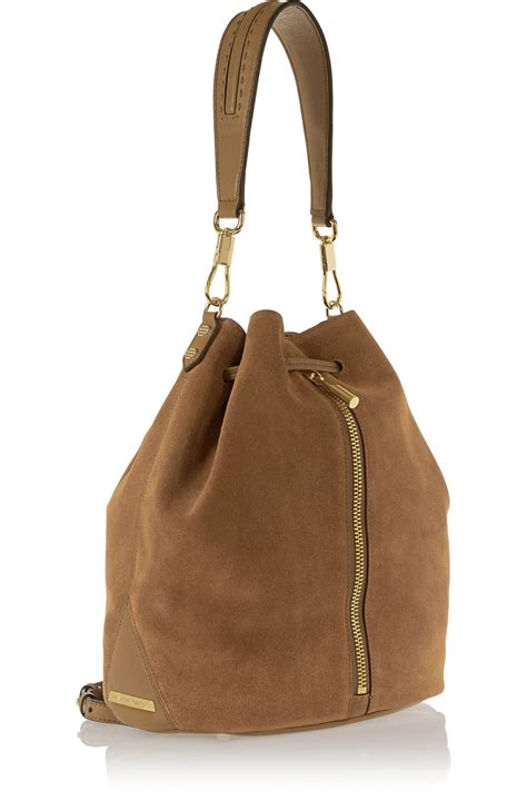 Castro Suede Sling Bag lyst elizabeth and cynnie sling suede backpack in brown