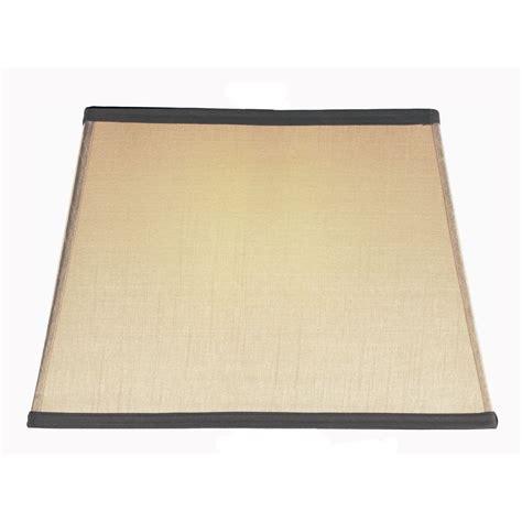 off white l shade rectangular l shades off white hardback shade 8 16x8