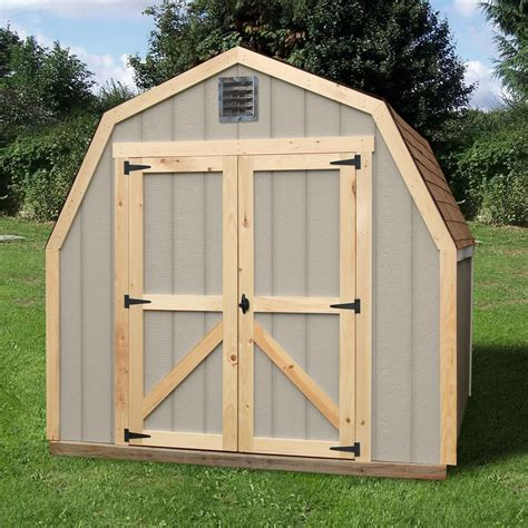Wooden Outdoor Buildings Suncast 98 Cu Ft Storage Shed Lawn Garden Sheds