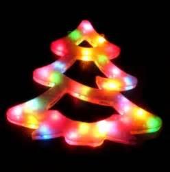 pvc free christmas lights christmas tree of plastic with glossy lights photo free