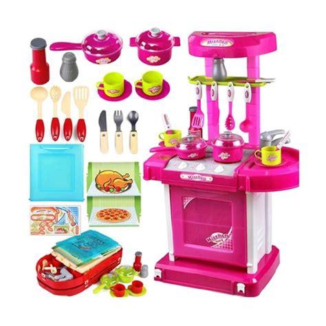 Kitchen Set Koper Mainan jual weekend deal universal kitchen set koper mainan