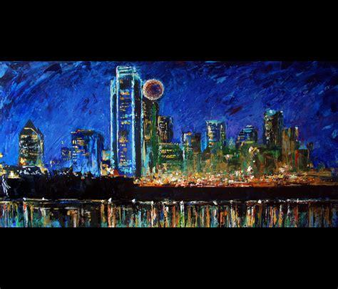 paint nite dallas dallas skyline