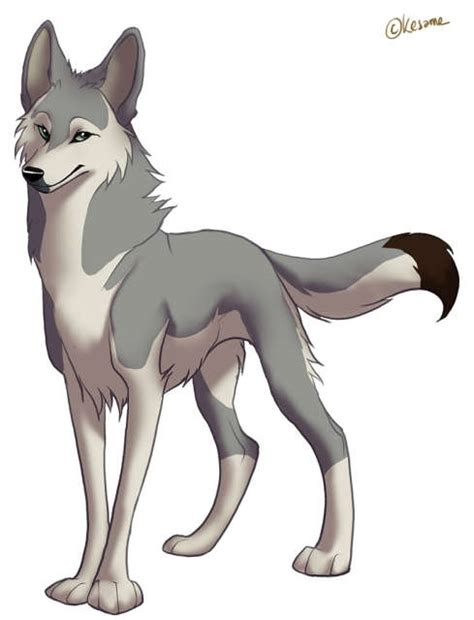 Anime Wolf by Anime Pack