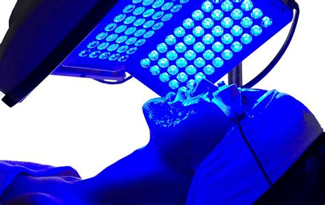 dermatology blue light treatment how blue light therapy can help you get rid of acne