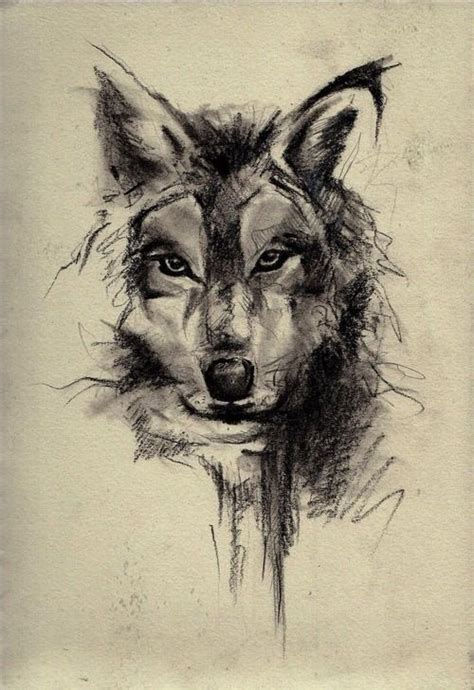 imagenes artisticas tristes wolf drawing dr odd