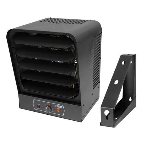 wall mount fan lowes shop king 17060 btu fan wall mount electric space heater