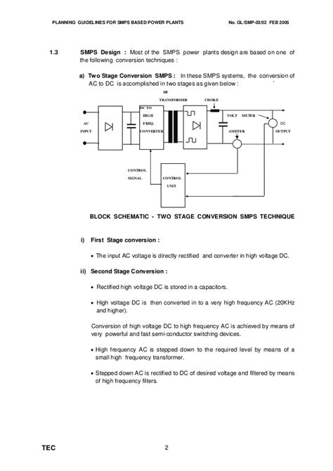 Smps Layout Guidelines   guidelines for power plants smps
