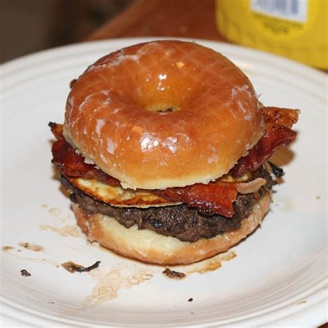 mmmmm how about a nice donut burger democratic