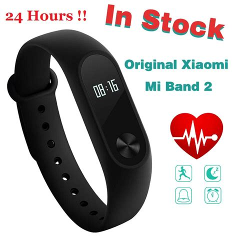 New Arrival Xiaomi Mi Band 2 Oled Original Free 2 Screenguard Jv1027 aliexpress buy in stock original xiaomi mi band 2