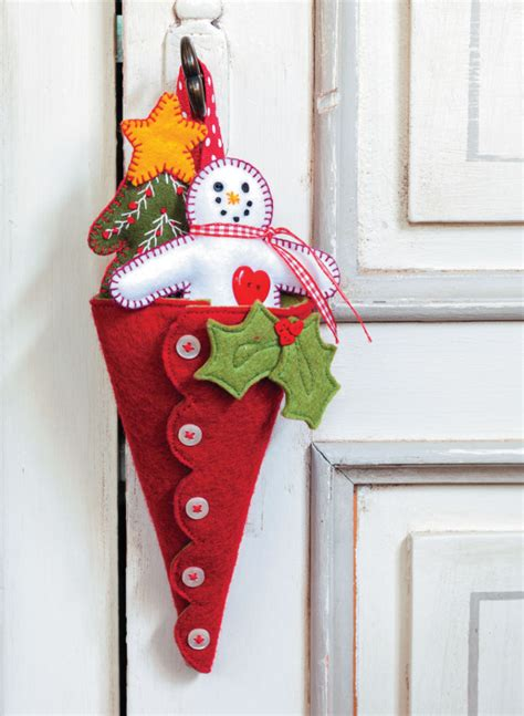 christmas crafts with felt sewandso