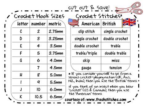 st knits size chart american conversion chart cut out save