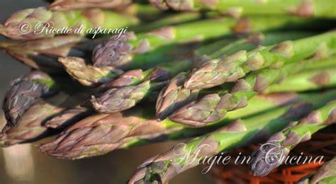 cucinare gli asparagi verdi ricette con asparagi magie in cucina