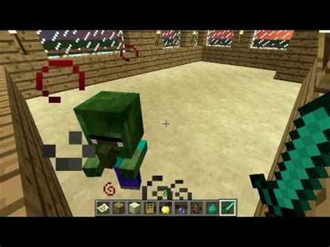 how to make a zombie baby youtube minecraft baby zombie villager cure youtube