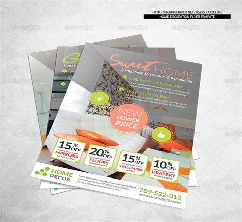Flyer Decorations Home Decoration Corporate Flyer By Katzeline Graphicriver