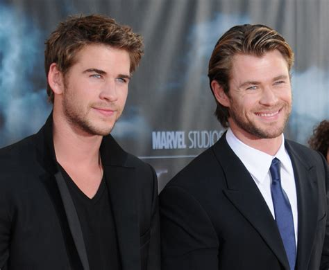 chris hemsworth reveals how he barely beat his brother out