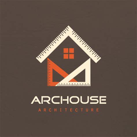 geometric house architecture logo design gallery