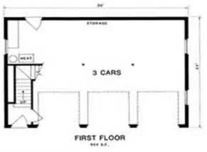Garage Dimensions 3 Car Royal Estate 3 Car Garage Plans