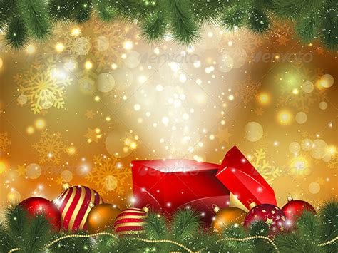 christmas gift background by kjpargeter graphicriver