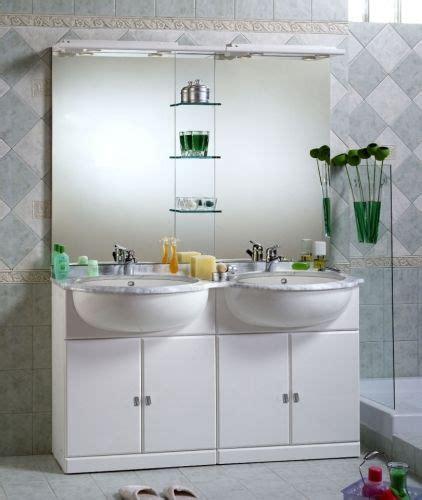 mobili bagno lavabo semincasso arredo bagno cleo mobile bagno semincasso con doppio