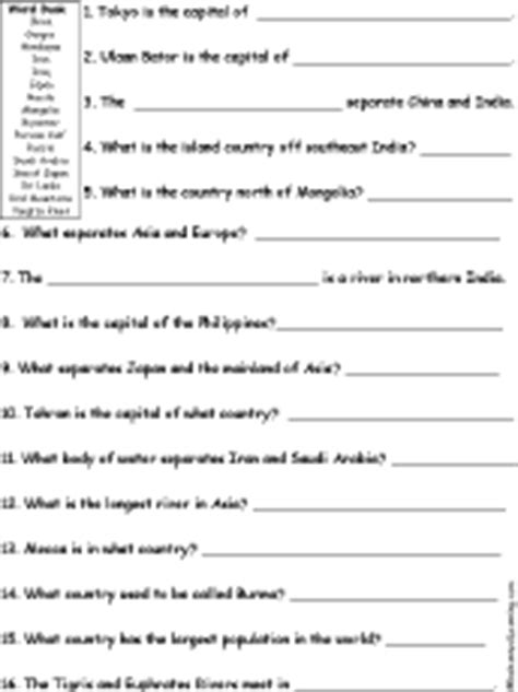 National Geographic Inside Korea Worksheet Answers