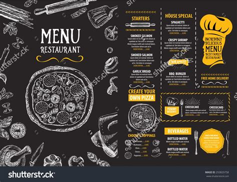 Cafe Templates by Restaurant Cafe Menu Template Design Food Flyer Menu