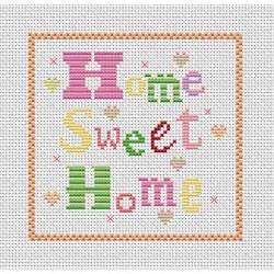 home patterns cross stitch patterns free printable home sweet home