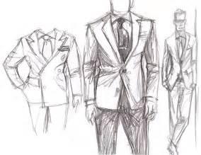 mens fashion templates drawing sunflowerman