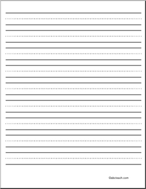 blank primary writing paper writing paper blank 72 pt portrait primary abcteach