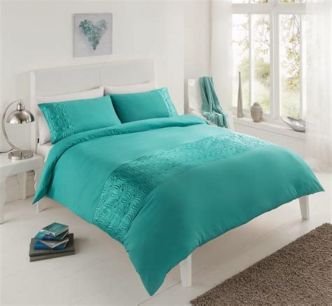 Teal Bed Set Duvet Set Teal