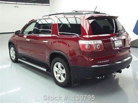2009 gmc acadia slt awd navi leather dual moonroof canadian mississauga ontario used car for sale sell used 2009 gmc acadia slt 2 dual sunroof nav rear cam dvd 80k texas direct auto in stafford