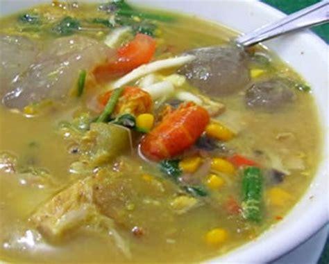 masakan papua papeda  ikan kuah kuning katalog kuliner