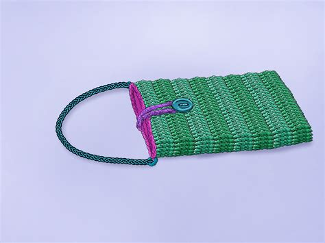 Men's cell phone crochet pouch pattern