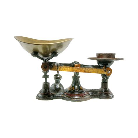 Italian Home Decor Accessories by Antique Grocers Scale Fairbanks 1900s Omero Home