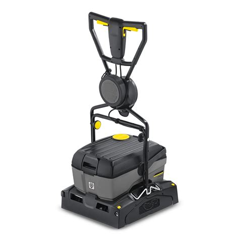 walk compact floor scrubber br 40 10 c adv karcher