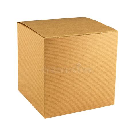 square cardboard box stock images image 29889354 cardboard gift box stock image image of side brown