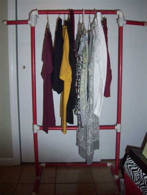 pipe garment rack diy crafts