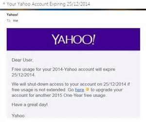 email yahoo phishing phishing my yahoo account has expired playing in the