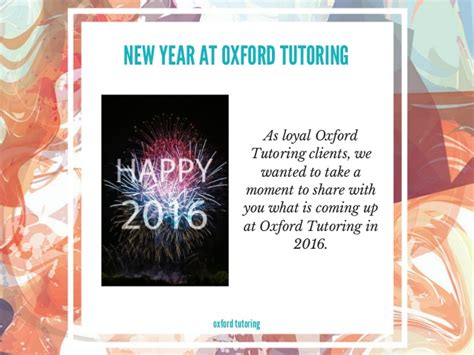 new year oxford 2016 what s happening at oxford tutoring in 2016