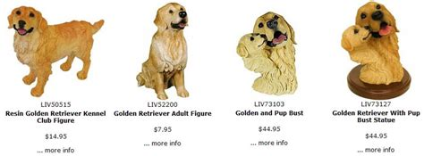 golden retriever figurines the golden retriever store section figurines sculptures statues