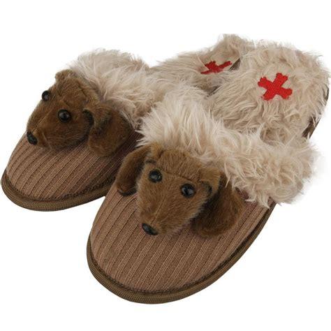 daschund slippers fuzzy nation dachshund felt slippers for animal