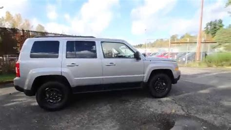 2015 Jeep Patriot Sport Silver Fd135909 Redmond