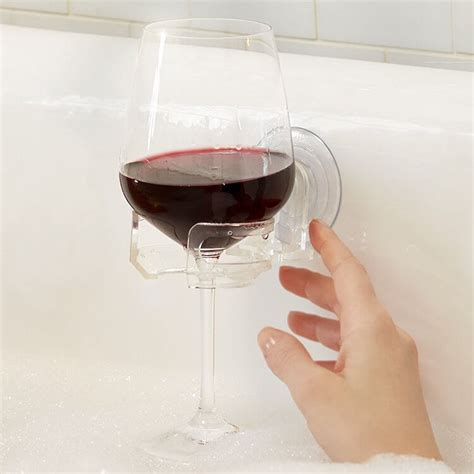 bathtub wine bathtub wine glass holder creative gift ideas and