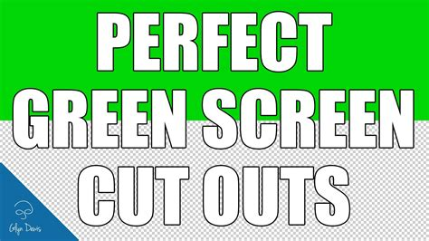 photoshop cs3 green screen tutorial photoshop tutorial perfect green screen cut outs 39
