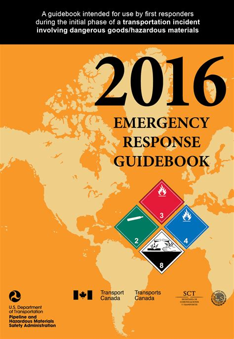 gaap guidebook 2018 edition books 2016 erg 2016 emergency response guidebook now available